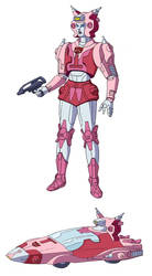 Transformers G1 Elita One (Fan Color Model)