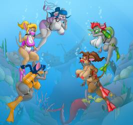 Underwater Adventures~ by creatiffy