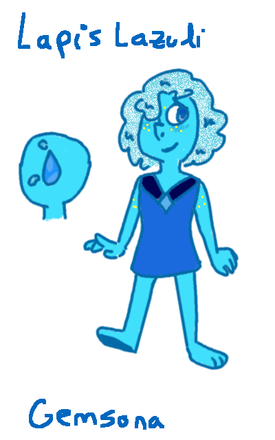 Lapislazuli Gemsona by pokefinn