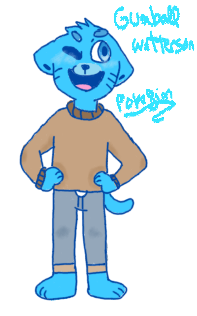 Gumball in my style by pokefinn