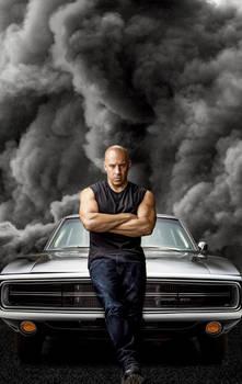 Pster  Rpido y furioso 9 Dominic Toretto