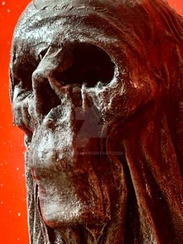 Shrouded skull #2 detail