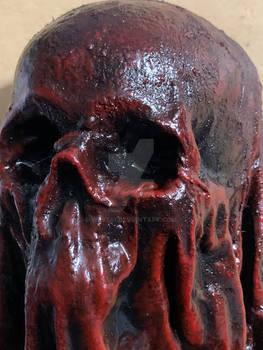 Blood shroud - detail