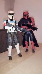 Shoretrooper custom  comparison by Grimkiller92