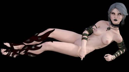 Ciri the Ashen one by Grimkiller92