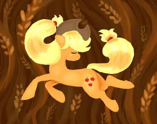 Pony Ballet: Applejack by Retaya