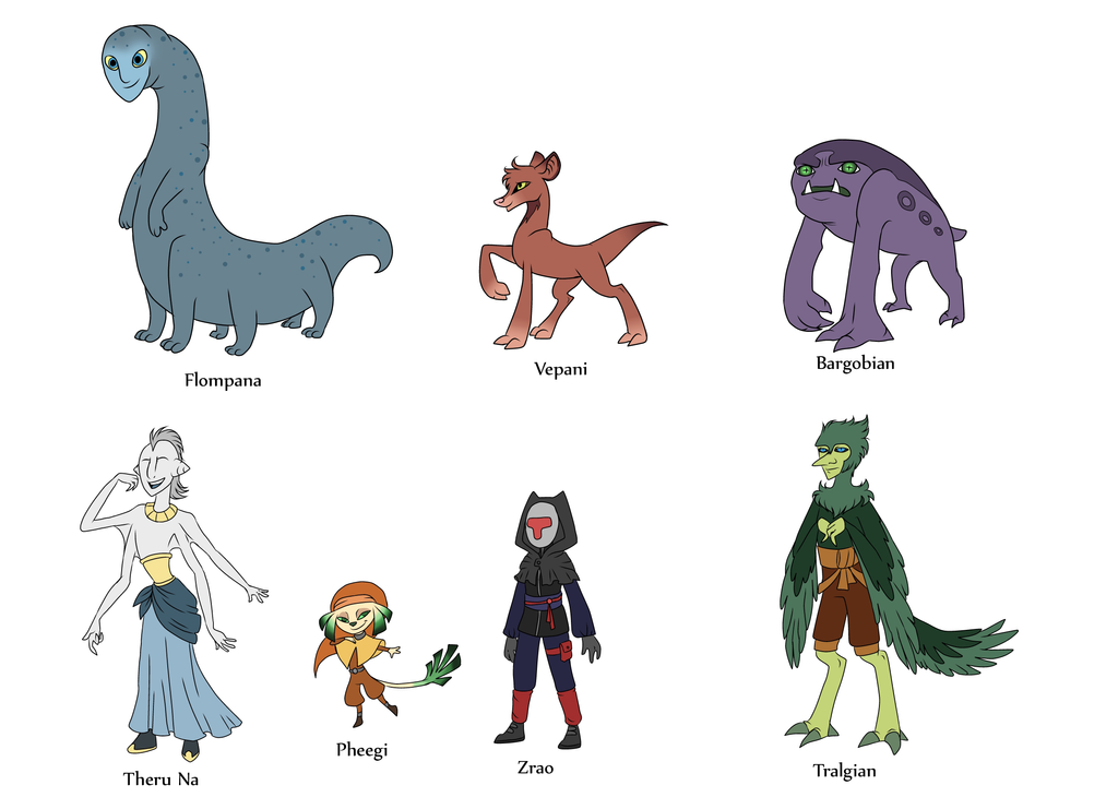 New Alien Races and stuff by Retaya on DeviantArt