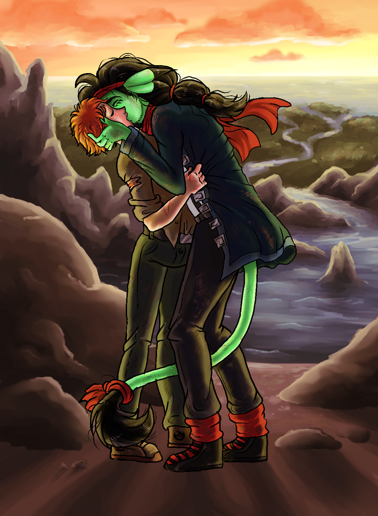 Merc and Jude Kiss of Ultimate Feels by Retaya