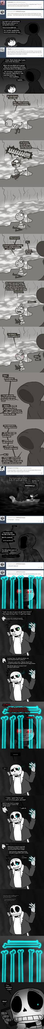 AskFriskAndCo 26: Ghosts by Retaya