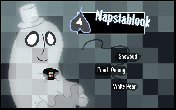 Napstablook Tea by Retaya