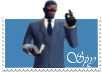 Spy stamp by kage58