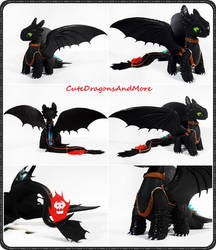 Fury dragons series: Toothless - COMISSIONED