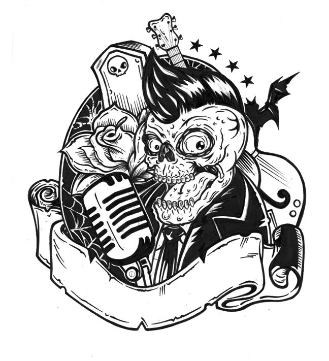 Rockabilly Wallpaper: Horor Rockabilly By Xafiritus On DeviantArt