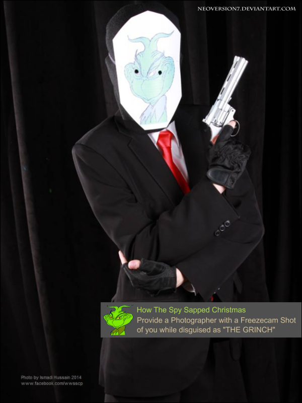 CosFest Christmas 2014 - THE 'GRINCH' SPY by NeoVersion7