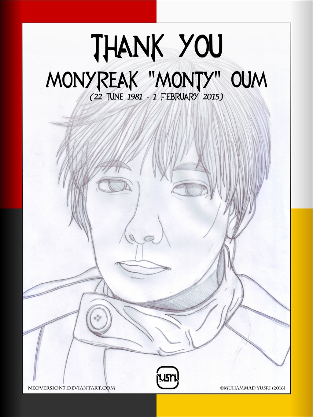 In Memory Of Monty Oum by NeoVersion7