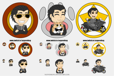 AsgarothSG - Twitch Emoticons by NeoVersion7