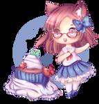 Study Break Cupcake for Shina