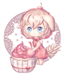 Cherry Cupcake Puppy