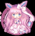 Fairy Princess Sylveon | +Speedpaint