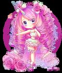 (G) Pink Rose Queen