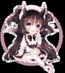 (C) Little Demon Maid