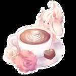 (Fanart) Alcremie made coffee! by Milavana
