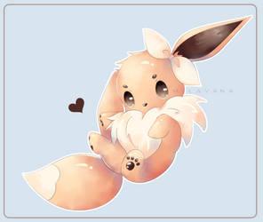 (Fanart) Just a baby Eevee