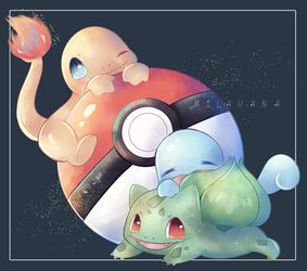 (FA) Kanto Starter Pokemon