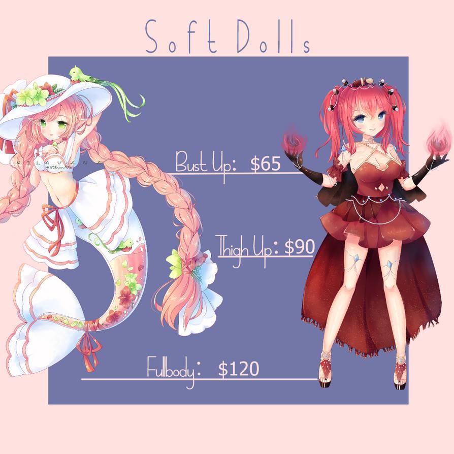 July SoftDoll commissions