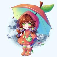 Apple Raindrop | Adoptable #1 | OPEN