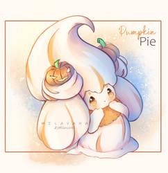 Halloween Pumpkin Pie Alcremie