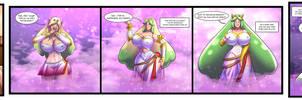 Inflatable goddess by KeyGii
