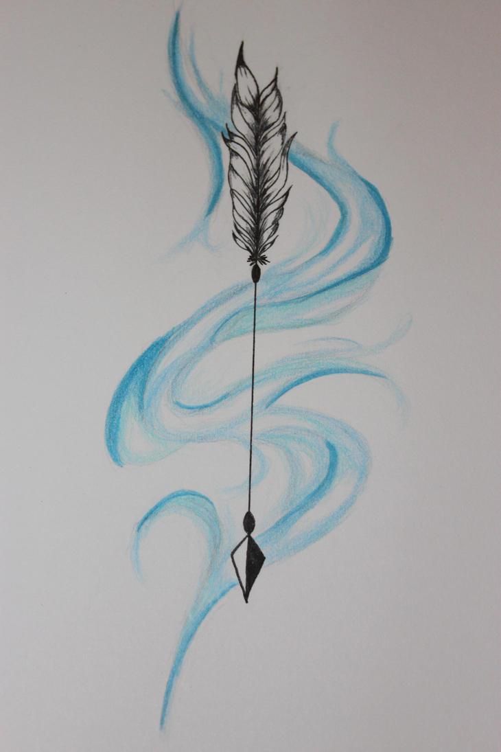 Arrow Tattoo Idea by Lunarmoonlight