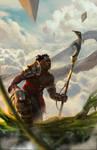 Zendikar Scout by Vagocool