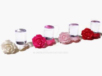 00g 0g 2g 4g 6g 8g 4 PAIRS Bridal Party Set