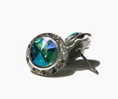 Glacier Blue Made With Swarovski Elements