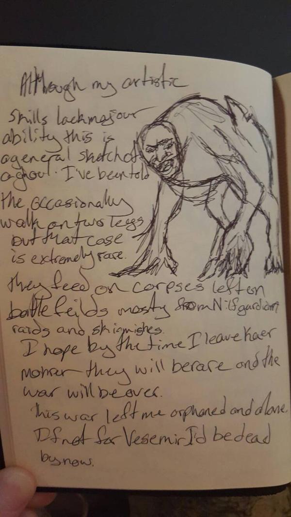 Leo's Journal 6 by Killereria