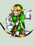 Archer Link-Linart by 3merald-