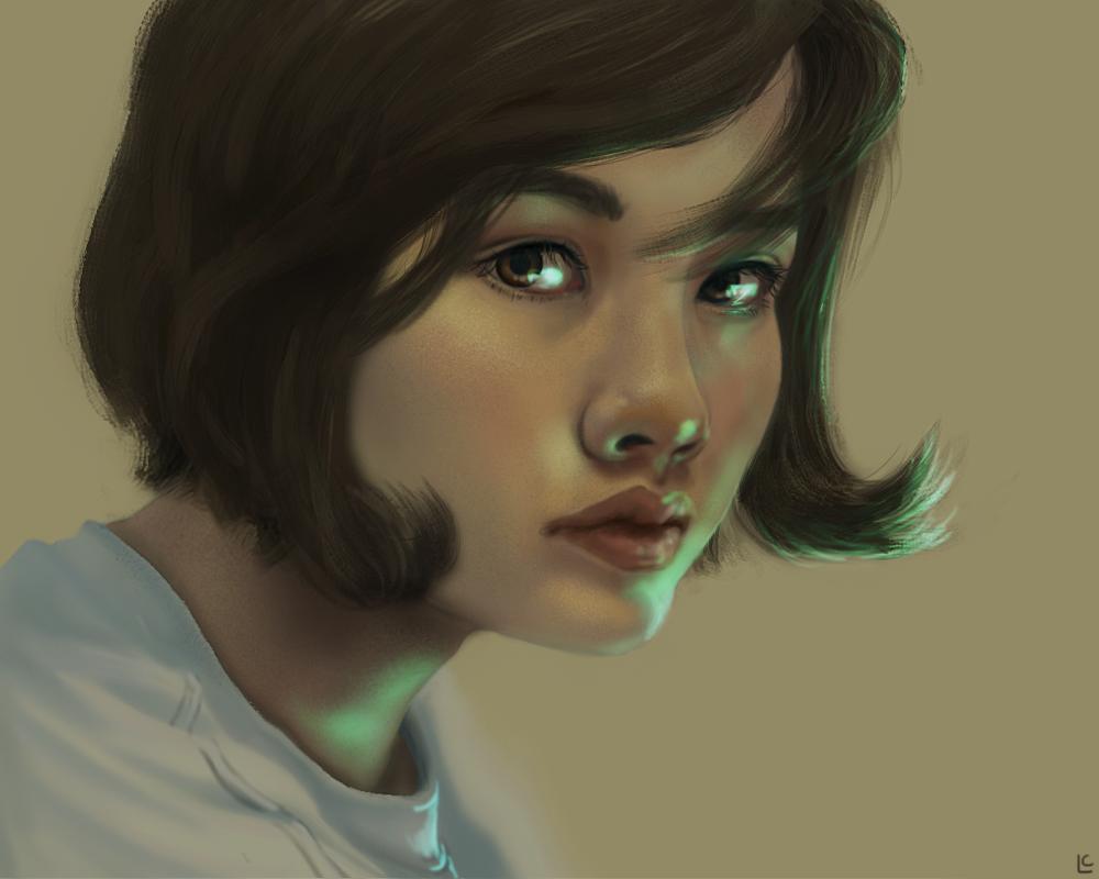 Self Portrait 2014 by myriamelle