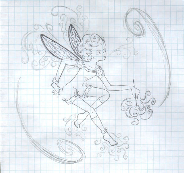 fairy? sorta. by myriamelle