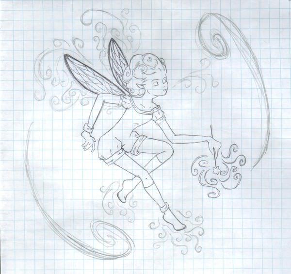 fairy? sorta. by myriamelle