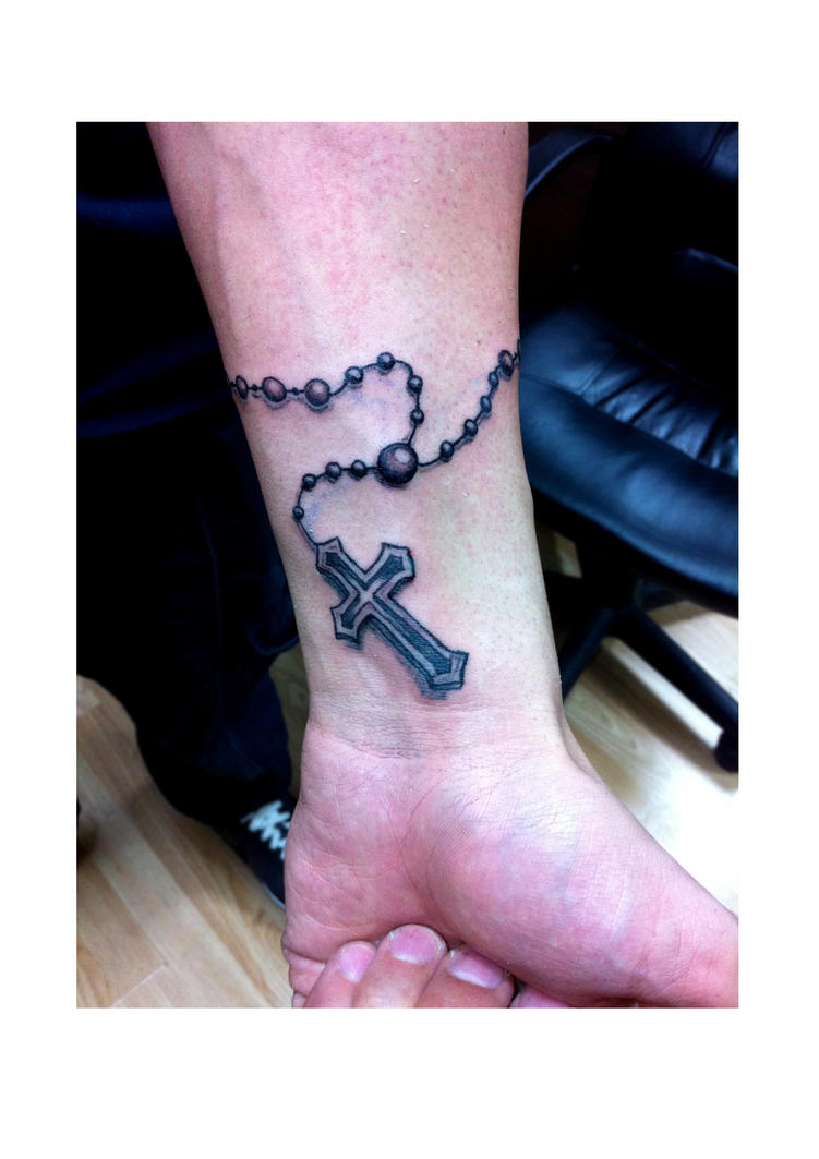 Tribal Rosary Tattoos Rosary Beads Tattoo 1 by