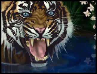 Tiger Blossom by Dragonite1