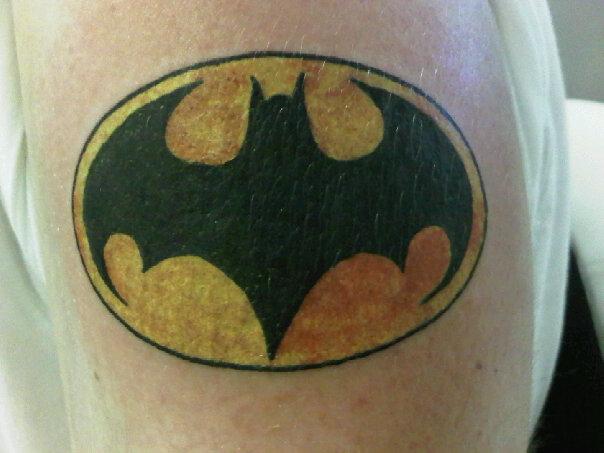 Tattoo number 3 batman by ltdangerous on deviantart for Number 3 tattoo