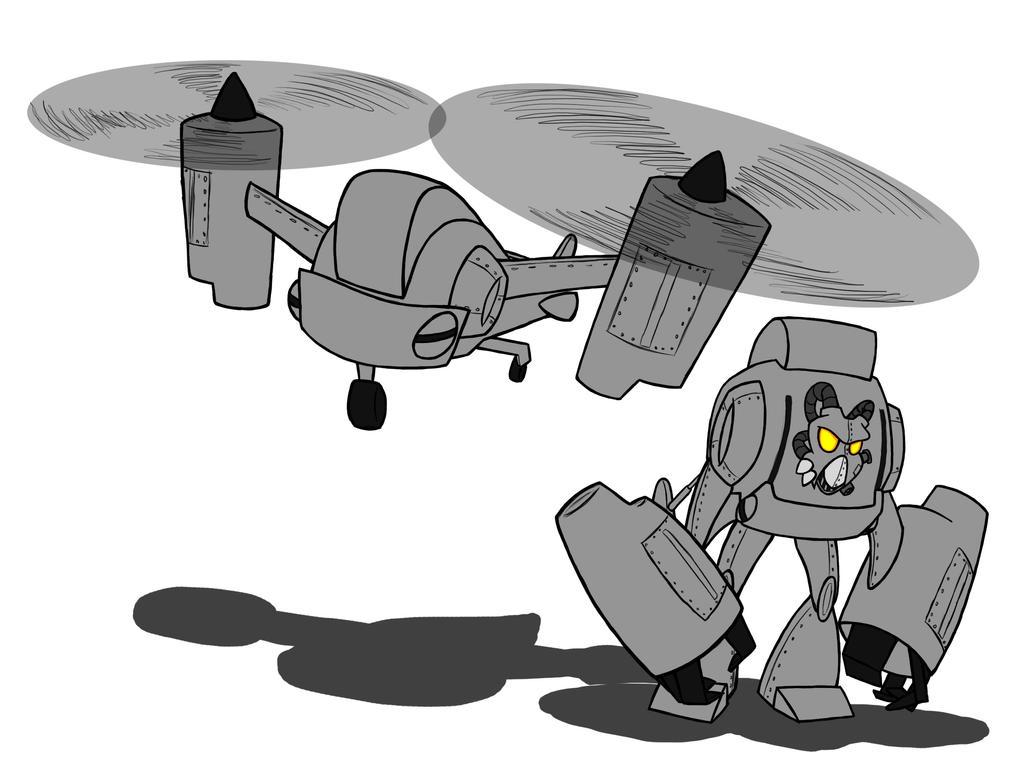 Enclave Vertibird Transformer by blanham17