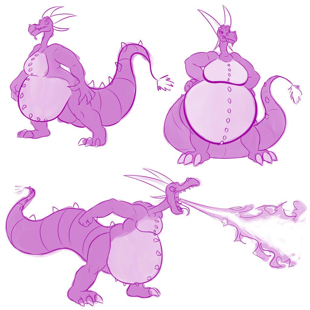 Ludmilla doodles by BlakerOats