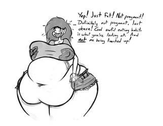 a preg-fat rando by BlakerOats