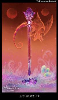 ACE of WANDS ~Dreamwalker tarot card