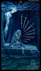 Nine of Swords - Dreamwalker tarot