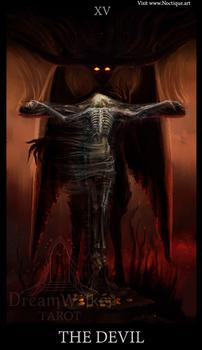 The Devil ~ Dreamwalker tarot by Noctique